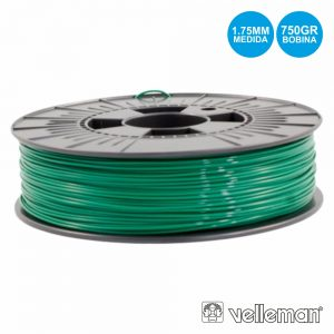 Rolo De Filamento P/ Impressão 3d 1.75mm 750g Verde - (PLA175G07)