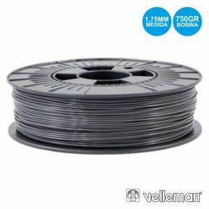 Rolo De Filamento P/ Impressão 3d 1.75mm 750g Cinzento - (PLA175H07)