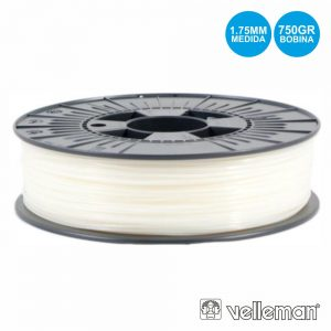 Rolo De Filamento P/ Impressão 3d 1.75mm 750g Natural - (PLA175N07)