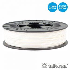 Rolo De Filamento P/ Impressão 3d 1.75mm 750g Branco - (PLA175W07)