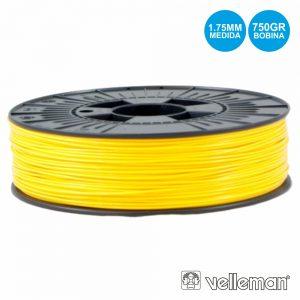 Rolo De Filamento P/ Impressão 3d 1.75mm 750g Amarelo - (PLA175Y07)
