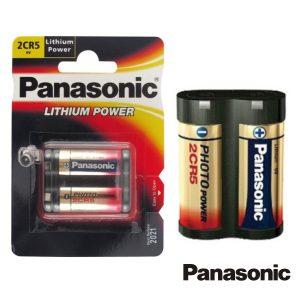 Pilha Lithium 2CR5 6v 1400ma Panasonic - (PLP-2CR-5L/1BP)