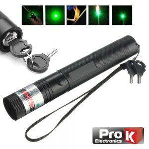 Ponteiro Laser Verde Alta Potência 5mW PROK - (CLA005MWG05)