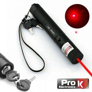 Ponteiro Laser Vermelho Alta Potência 5mW PROK - (CLA005MWR05)