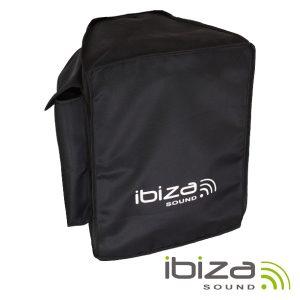 """Bolsa Protectora P/ Coluna 15"""" Poliéster IBIZA - (PORT-BAG15)"""