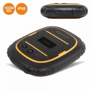 PoWerbank 10000ma C/ Ficha Micro USB IP68 Goclever - (POWER10RUG)