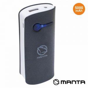 Powerbank 5000ma Preto MANTA - (BBPB003B)