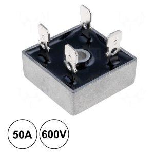 Ponte Rectificadora 600v 50a Kbpc5006 - (PR5006)