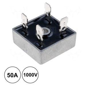 Ponte Rectificadora 1000v 50a Kbpc5010 - (PR5010)