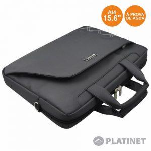 "Bolsa Laptop/Tablet 15.6"" C/ Alças Grafite PLATINET - (PTO156ST)"