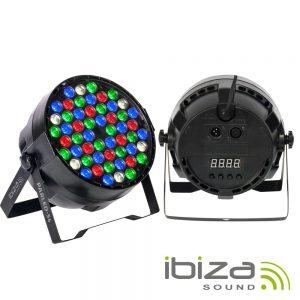 Projetor Luz C/ 54 LEDS 1W RGBW DMX IBIZA - (PARLED-54)