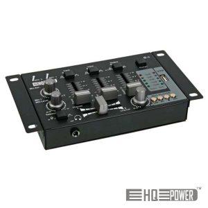 Mesa De Mistura 2 Canais + Entrada USB HQ POWER - (PROMIX50U)