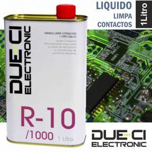 Líquido Limpa Contactos 1 Litro Due-Ci - (R-10/1000)