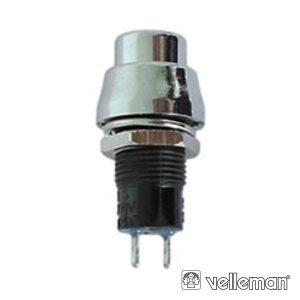 Interruptor Off-On Prateado - (R1384B)