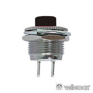 Interruptor Pressão Miniatura 1p Off-(On) VELLEMAN - (R1820B/B)