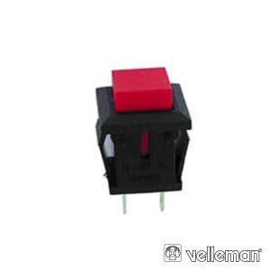 Interruptor Off-(On) Vermelho - (R1827A/125)