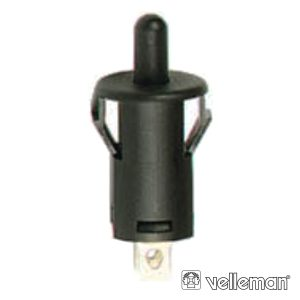 Interruptor Off-(On) 1A - 250v Preto - (R1858B)
