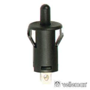 Interruptor Off-(On) 1A - 250v Preto - (R1858B)