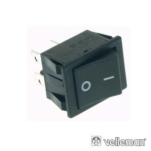 Interruptor Basculante 10a-250v Dpst On-Off VELLEMAN - (R905A)
