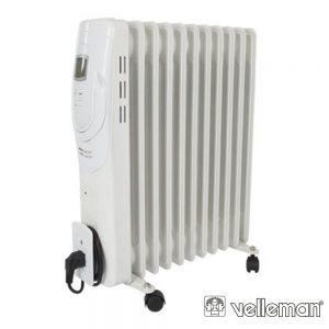 Radiador A Óleo 2500W 11 Elementos C/ Visor Lcd Perel - (TC78011LCD)