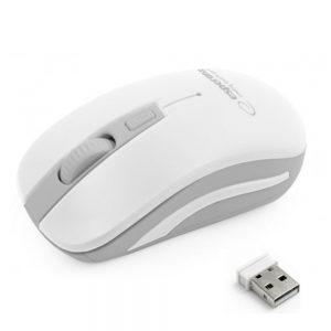 Rato Óptico 800/1200/1600 DPI s/ Fios 2.4GHz Branco/Cinzento - (EM126EW)