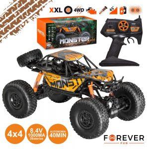 Carro Telecomandado Monster 4x4 2x 8.4V 1000ma 2.4ghz. - (RC-200)