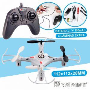Drone Quadcóptero Com Transmissor 2.4 Ghz De 4 Canais - (RCQC2)