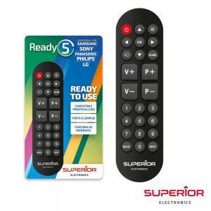 Comando TV Universal P/ SAMSUNG Lg Sony Philips SUPERIOR - (READY5SP)