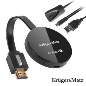 Receptor HDMI Wifi Dongle P/ Android E iOS - (KM0365)