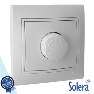 Regulador De Luz Interior Parede Branco 800W SOLERA - (SLR-ERP31/08U)