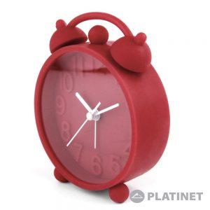 Relógio Despertador Analógico Vermelho PLATINET - (PZACHR)