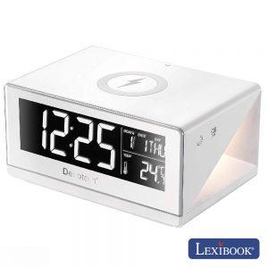 Relógio C/ Carregador Por Indução Lexibook - (RLI800)