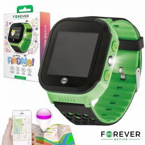 Relógio Segurança Gps Gprs Sim Criança Verde FOREVER - (KW-200GR)