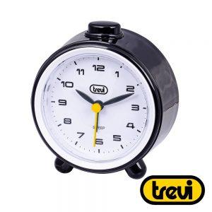 Relógio Despertador Analógico Preto TREVI - (SL-3P24-BK)