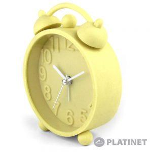 Relógio Despertador Analógico Amarelo PLATINET - (PZACHY)
