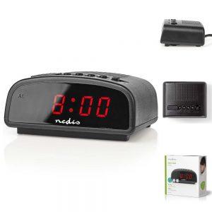 "Relógio Despertador Digital 0.6"" - (CLDK008BK)"