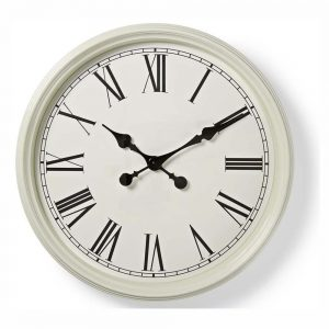 Relógio De Parede Analógico Branco 50cm - (CLWA008WD50WT)
