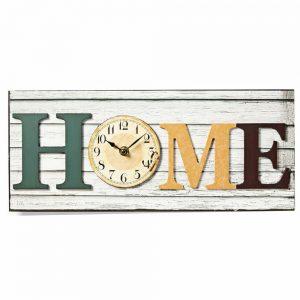 Relógio De Parede Analógico Modelo Home - (CLWA001WDH40)