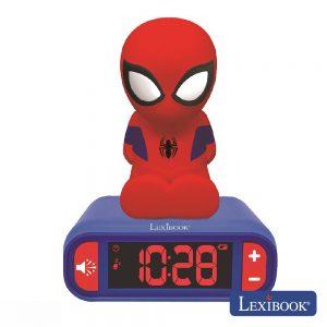 Relógio Despertador Homem Aranha LEXIBOOK - (RL800SP)