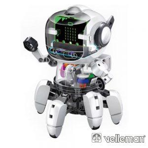 Kit Robô C/ 6 Pernas Tobbie II 118 Peças VELLEMAN - (KSR20)