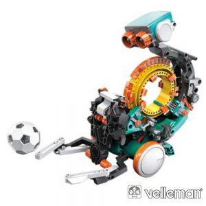 Kit Robô de Codificação Mecânica 5Em1 238 Peças VELLEMAN - (KSR19)