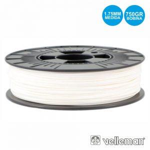 Rolo De Filamento P/ Impressão 3d 1.75mm 750g Branco - (ABS175W07)