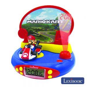Relógio Despertador Projeção E Efeitos Super Mario LEXIBOOK - (RP500NI)