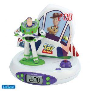 Relógio Despertador Projeção E Efeitos Toy Story LEXIBOOK - (RP505TS)
