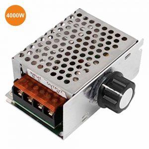 Regulador De Tensão Scr P/ Motor AC 230V C/ Dimmer 4000W - (RTAC4000W(H))