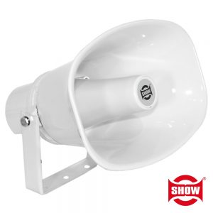 "Altifalante Corneta Pa 100v 30W 6.5""/16cm Ip66 Abs ShoW - (SC-30AH)"