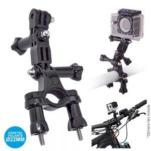 Suporte Câmaras Sc E Gopro P/ Bicicletas - (SCH-012)