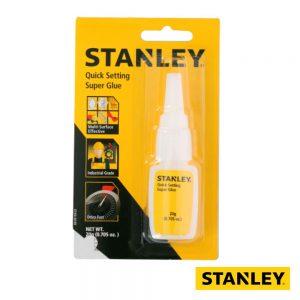 Super Cola Adesiva Instantânea Multiusos 20g STANLEY - (SGLUEGEL20G)