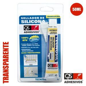Silicone Acético Sanitário Transparente 50ml Qs - (TECNOSIL-TU-TR)
