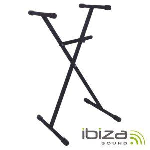 Suporte P/ Teclado Bloqueio 65-96cm 50kg IBIZA - (SK001)
